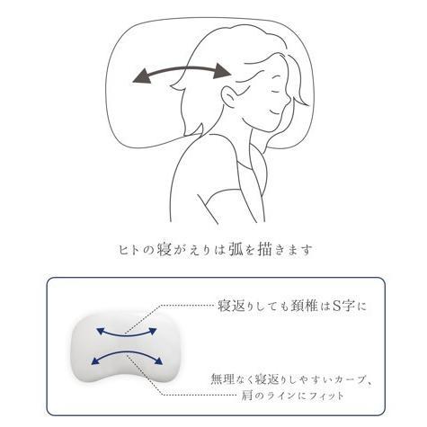 ジムナストソフトフィール 枕 送料無料 まくら 洗える 日本製 高さ調節 首こり 肩こり いびき パイプ|venex|07