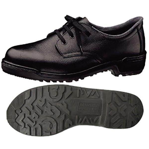 安全靴 ミドリ安全 女性用 LZ010J ブラック 日本製 レディース 軽量 革靴 現場 定番 verdexcel-medical