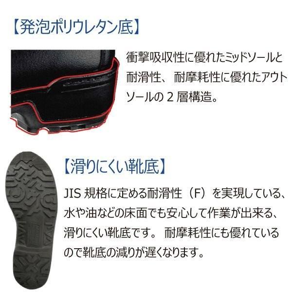 安全靴 ミドリ安全 女性用 LZ010J ブラック 日本製 レディース 軽量 革靴 現場 定番 verdexcel-medical 03