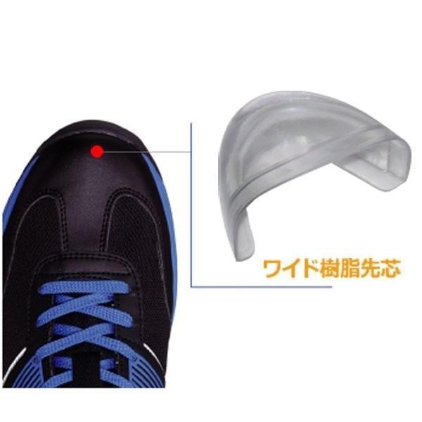 安全作業靴 ミドリ安全 ワークプラス エアHG ISA-805 静電 ネイビー 先芯入りスニーカー ローカット メッシュ 通気性 verdexcel-medical 04