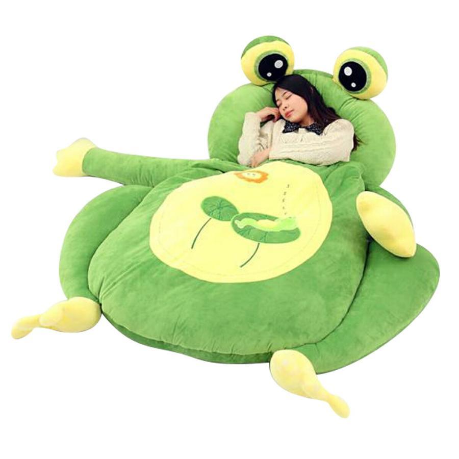 VeroMan VeroMan 可愛い動物のぬいぐるみの中で眠れる寝袋付き敷布団