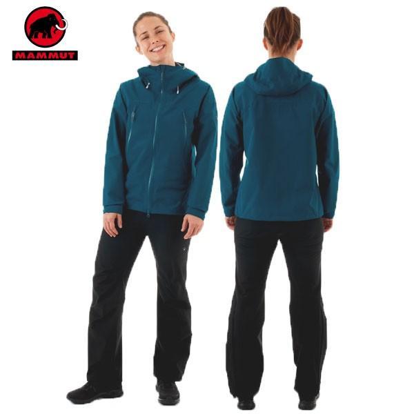 MAMMUT(マムート) CLIMATE Rain-Suit AF Women クライメイトレインスーツ アジアンフィット ゴアテックス(女性用) カラー:50231 (MAMMUT_2019SS) あすつく