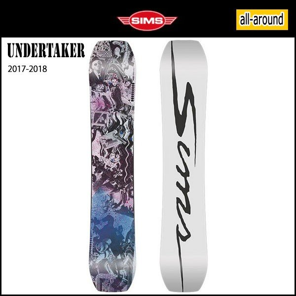 雑誌で紹介された スノーボード スノーボード ボード 板 板 17-18 SIMS SIMS シムス UNDERTAKER, MixCD24:76866aaf --- airmodconsu.dominiotemporario.com