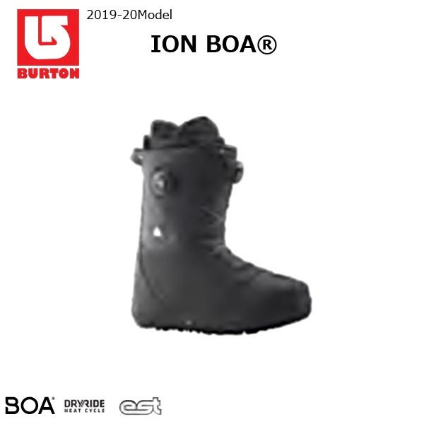 スノーボード ブーツ 靴 19-20 BURTON バートン ION BOA アイオンボア BOA ハイレスポンス 人気