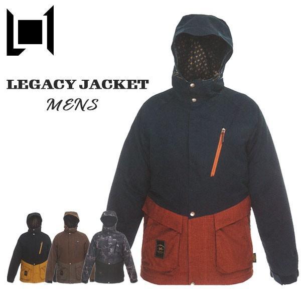 スノーボード ウエア ウェアー メンズ 19-20 L1 LEGACY JACKET エルワン レガシー 定番 オシャレ 切り返し