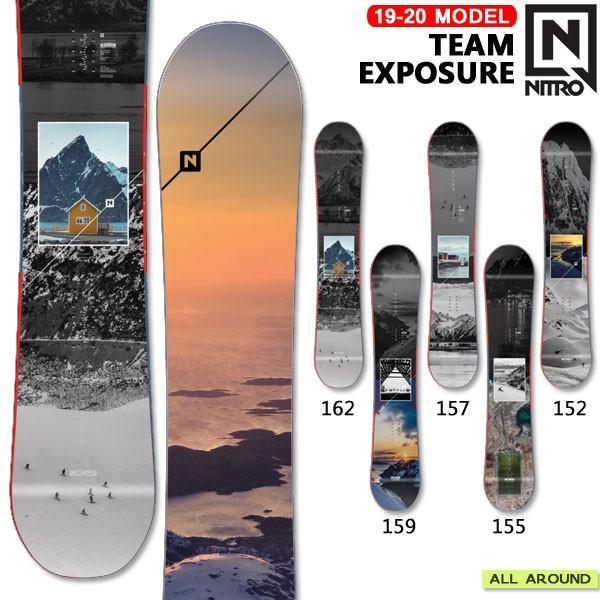 正規激安 スノーボード 板 19-20 NITRO TEAM EXPOSURE ナイトロ チームエクスポージャー オールラウンド フリースタイル パーク 19-20-BO-NTR, リサイクル着物専門店あい山本屋 2f0d42dd