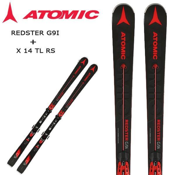【即出荷】 スキー + ビンディング セット 18-19 セット ATOMIC + アトミック REDSTER G9I ビンディング + X 14 TL RS レッドスタージーナインアイ+エックス14ティーエルアールエス, ハッピーサニーショップ:e4e72f28 --- airmodconsu.dominiotemporario.com