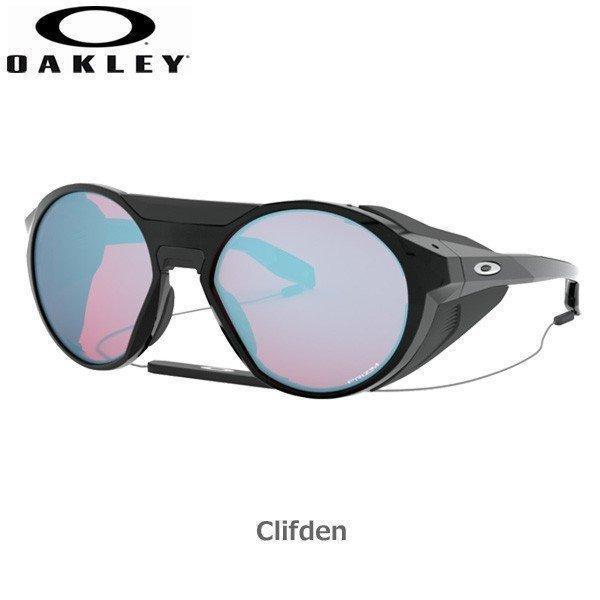 高品質の激安 オークリー サングラス クリフデン スポーツ OAKLEY CLIFDEN フレーム Polished Black レンズ Prizm Snow Sapphire, いなば屋 【】 6143a1fb