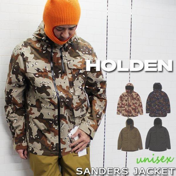 スノーボード ウエア ウェアー 19-20 HOLDEN ホールデン SANDERS JACKET サンダースジャケット ミリタリー 軽量 オシャレ