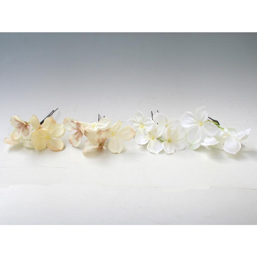 ターコイズバラと白小花のパーツ髪飾り:HA001 vertpalette-store 04