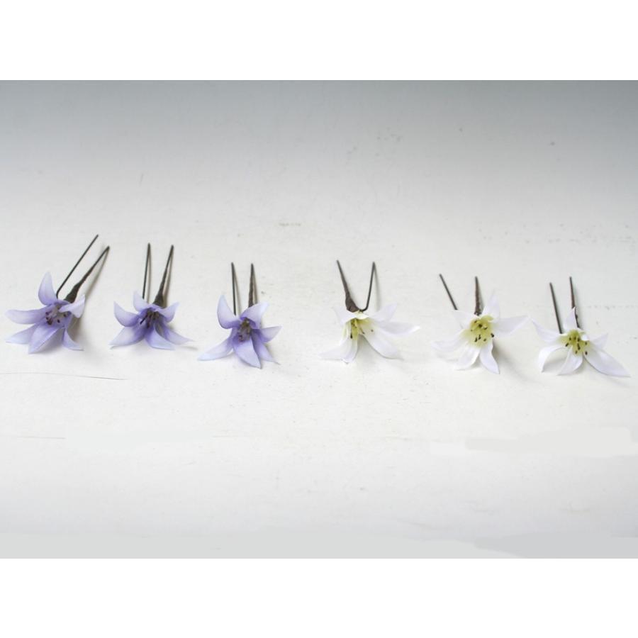 ターコイズバラと白小花のパーツ髪飾り:HA001 vertpalette-store 05