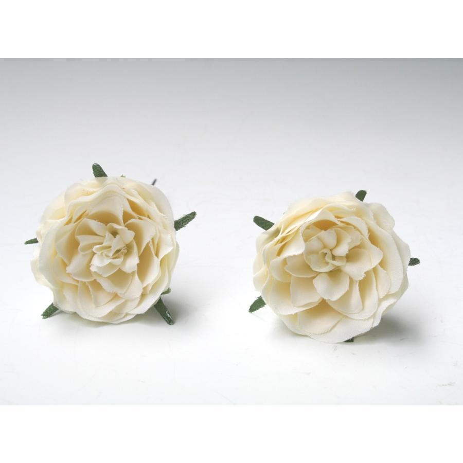 バラとビジューのパーツセット(16パーツ)の髪飾り:HA014|vertpalette-store|08