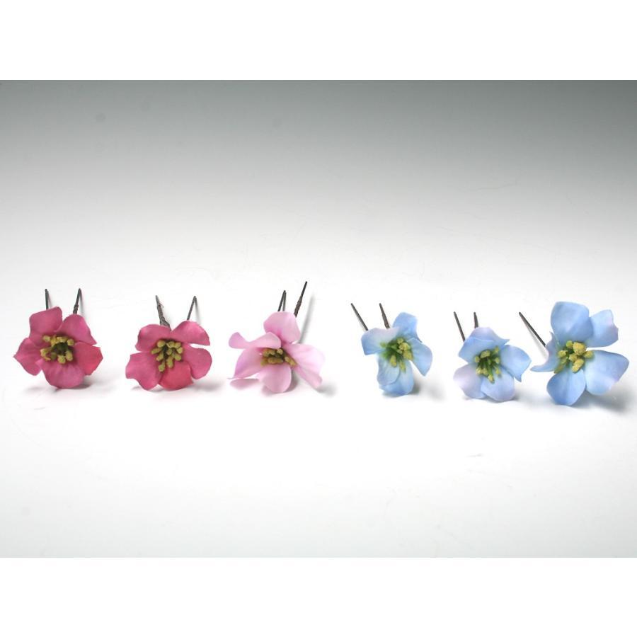 バラとビジューのパーツセット(16パーツ)の髪飾り:HA014|vertpalette-store|09