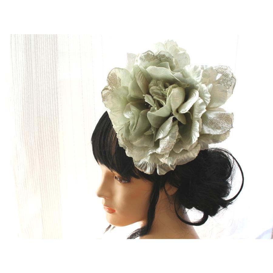 シルバー系でキラキラしたモダンな髪飾り(コームとUピンパーツ):HA046 vertpalette-store 10