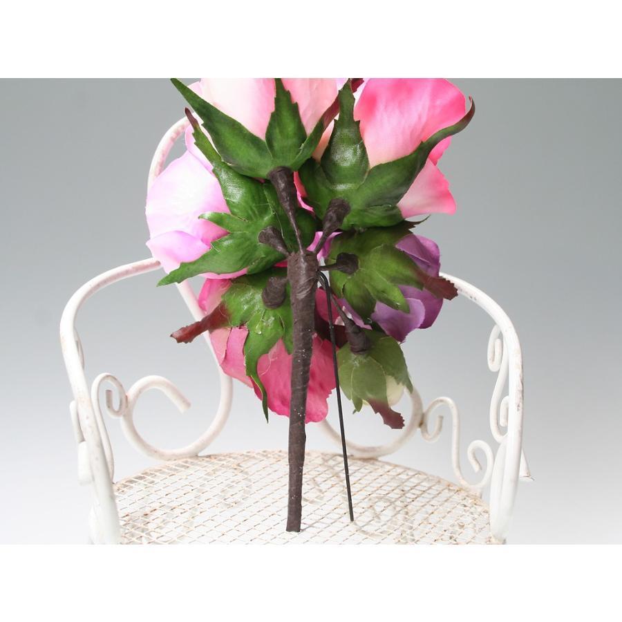 バラのパーツセットの髪飾り(19パーツ):HA058|vertpalette-store|12