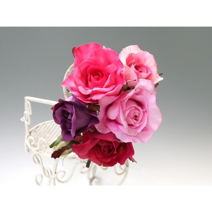 バラのパーツセットの髪飾り(19パーツ):HA058|vertpalette-store|06