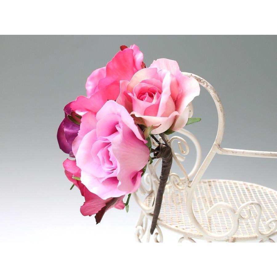 バラのパーツセットの髪飾り(19パーツ):HA058|vertpalette-store|07