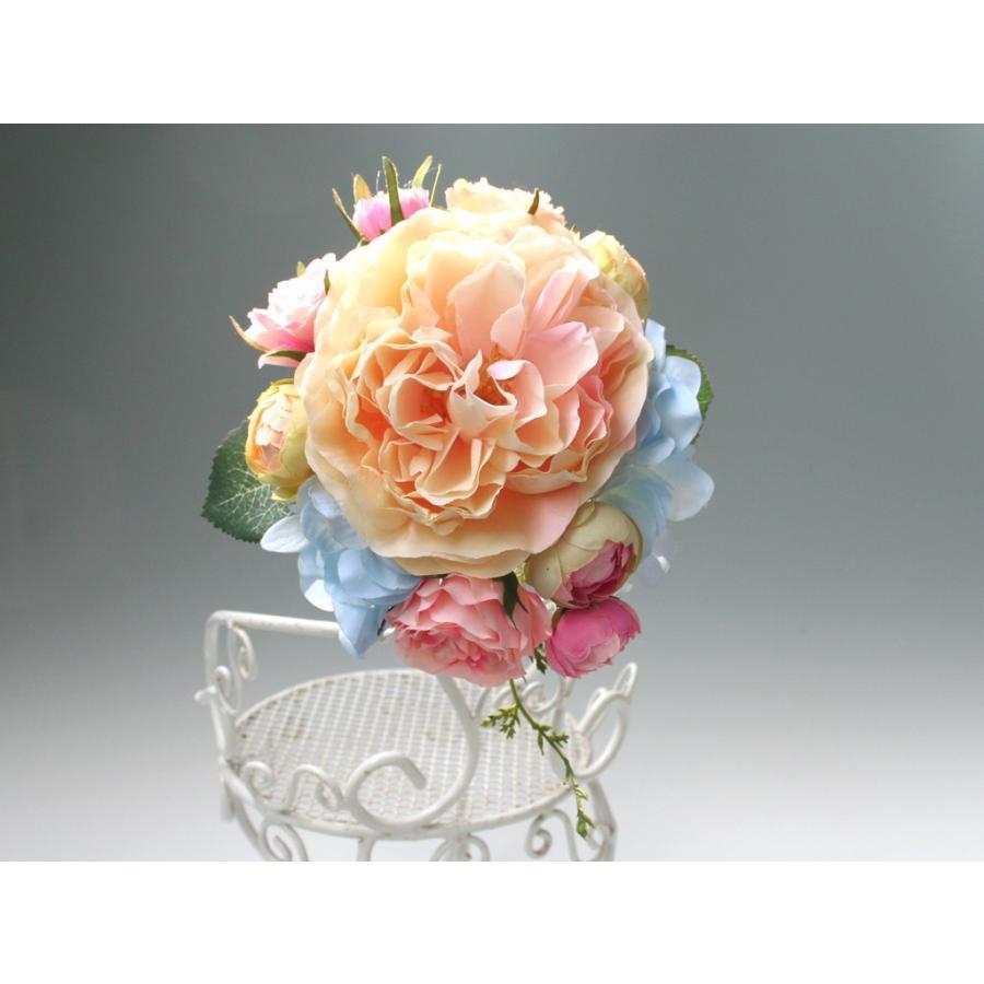 髪飾り(ヘッドドレス) ピオニーとバラのパーツセット:HA079|vertpalette-store|06