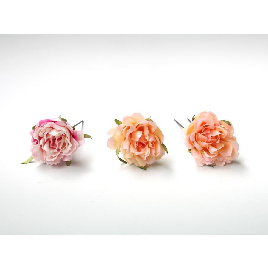 髪飾り(ヘッドドレス) ピオニーとバラのパーツセット:HA079|vertpalette-store|10