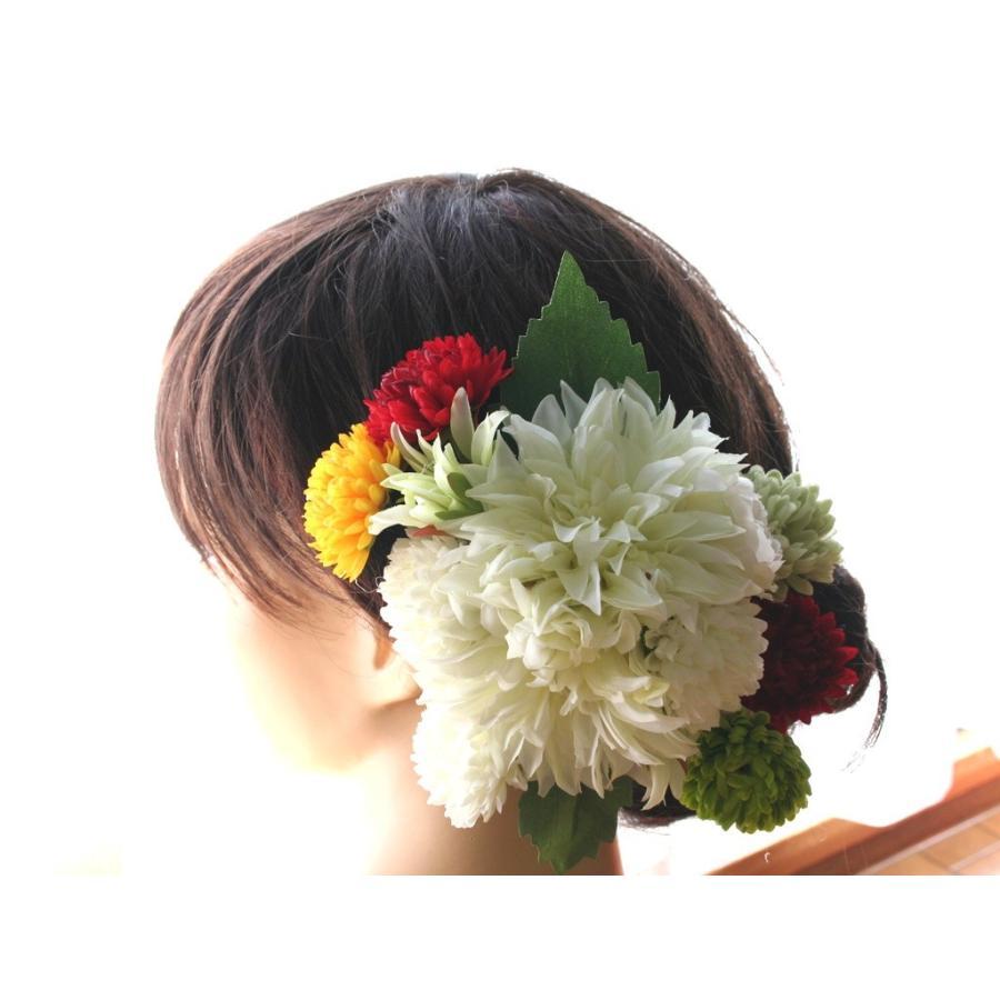 ダリアとマムの髪飾りセット:HA073|vertpalette-store|02