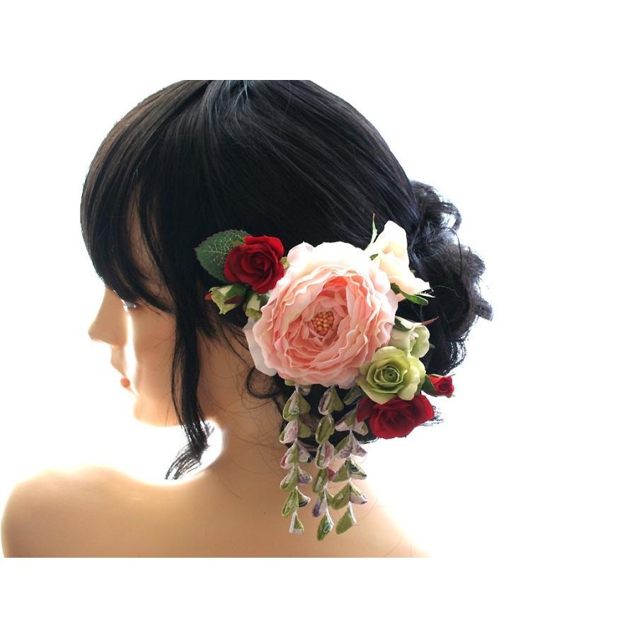 温かみのある優しい雰囲気の髪飾り(Uピン):HA081|vertpalette-store|06