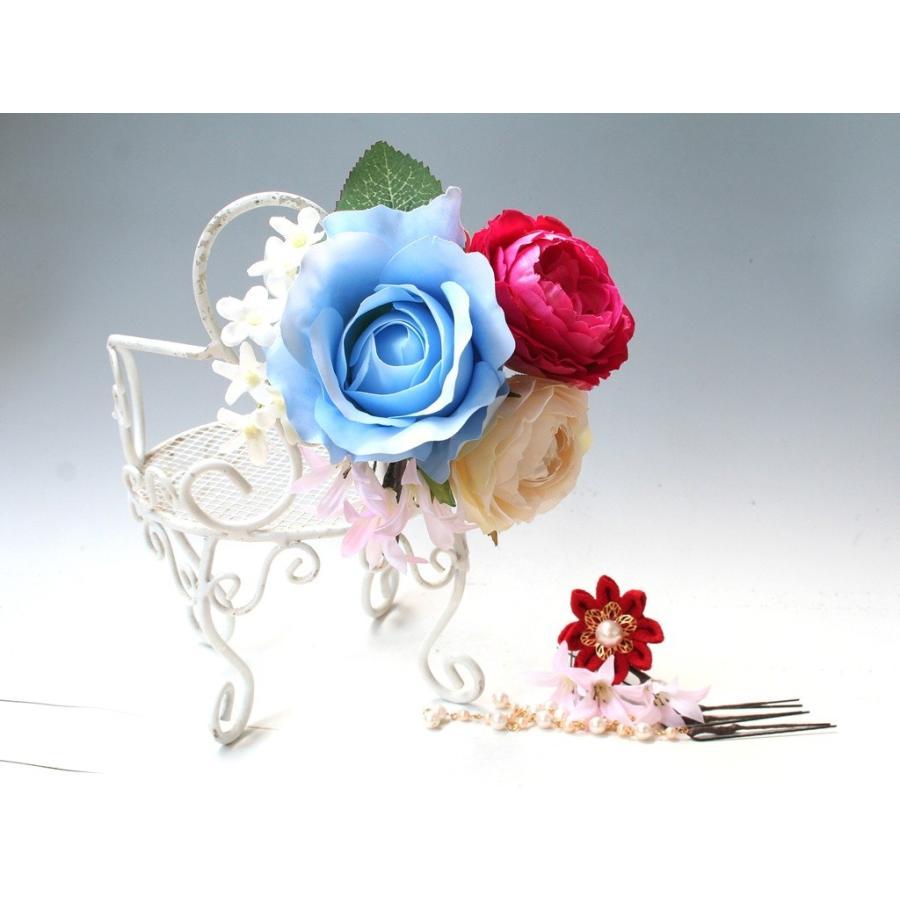 バラとちりめんモチーフとのセット:HA060|vertpalette-store|03
