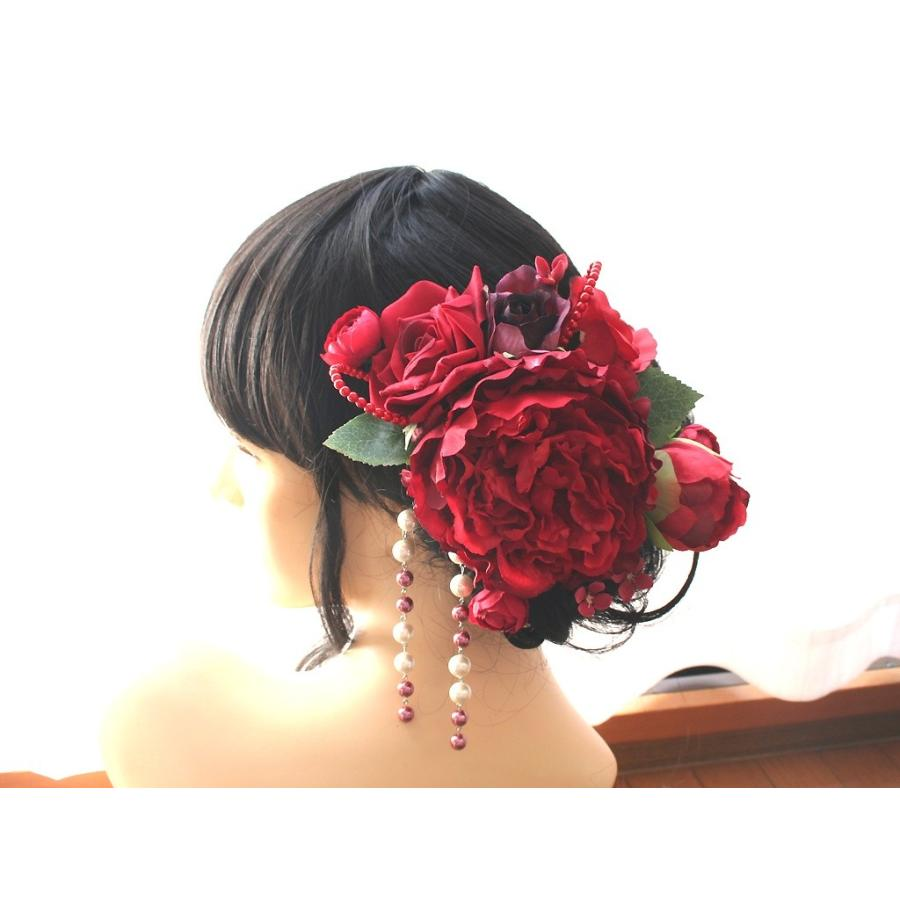 舞妓牡丹とバラのパーツセット(11パーツ):HA042 vertpalette-store 02
