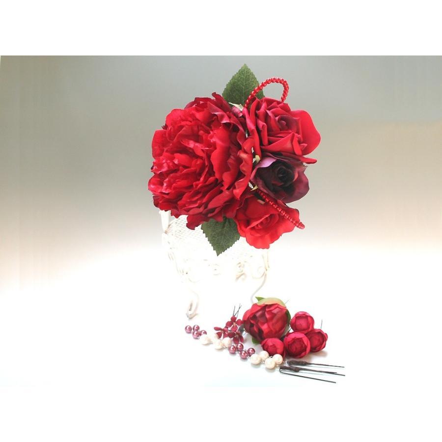 舞妓牡丹とバラのパーツセット(11パーツ):HA042 vertpalette-store 03