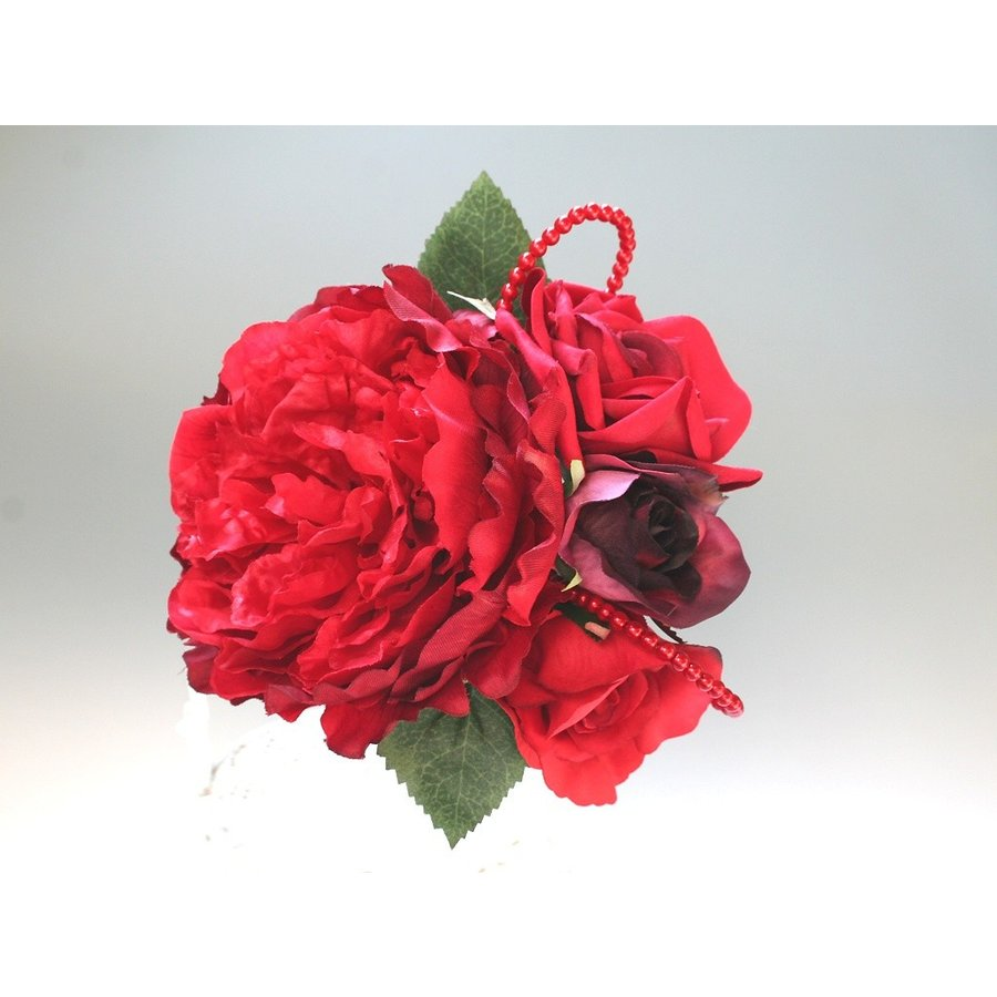 舞妓牡丹とバラのパーツセット(11パーツ):HA042 vertpalette-store 04