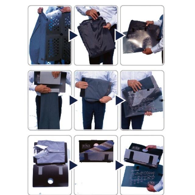 ガーメントバッグ メンズ/SU-PACK HARD PLUS M(スーパック ハード プラス Mサイズ )スーツもシャツもネクタイも一つに収納/メーカー直販 日本製 very-web-store 04