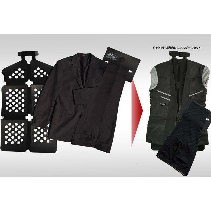 ガーメントバッグ メンズ・SU-PACK 1/6 Clean Black / スーパック 6分の1 クリーン ブラック/メーカー直販 日本製|very-web-store|02