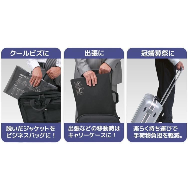 ガーメントバッグ メンズ・SU-PACK 1/6 Clean NabyBlue / スーパック 6分の1 クリーン ネイビーブルー/メーカー直販 日本製|very-web-store|06