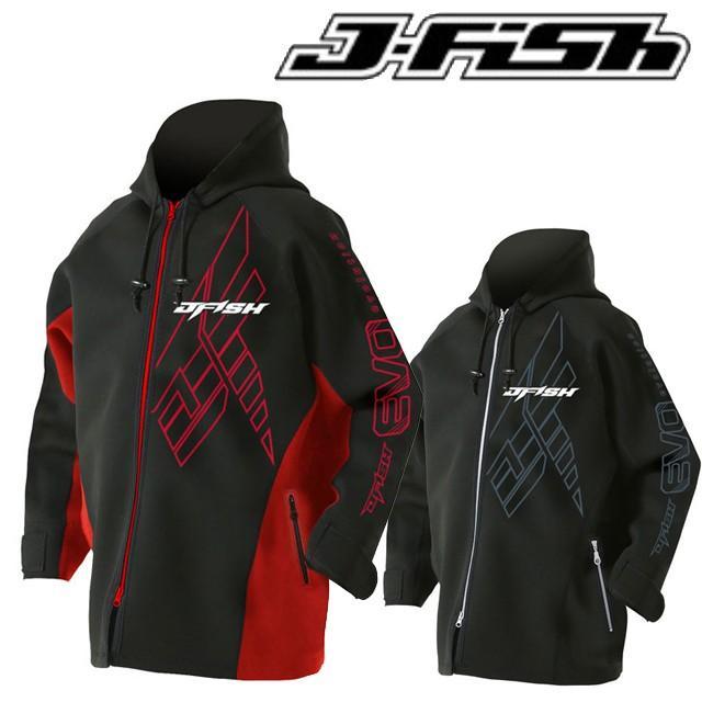 J-FISH ジェイフィッシュ ツアーコート ハーフ 1.5 1.5mm TOUR COAT HALF マリンコート ウエットコート ボートコート ジャケット JTC-391