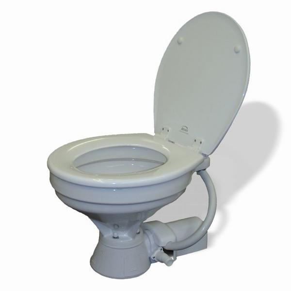 JABSCO (ジャブスコ)  電動マリントイレ 家庭用サイズ 12V仕様 37010-4092