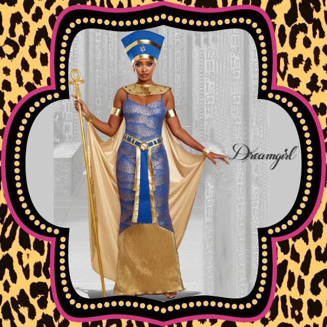 コスプレ 衣装 DreamGirl ドリームガール DG 11166 エジプト王妃 ネフェルティティ 5点セット 正規品 ハロウィン 仮装 コスチューム