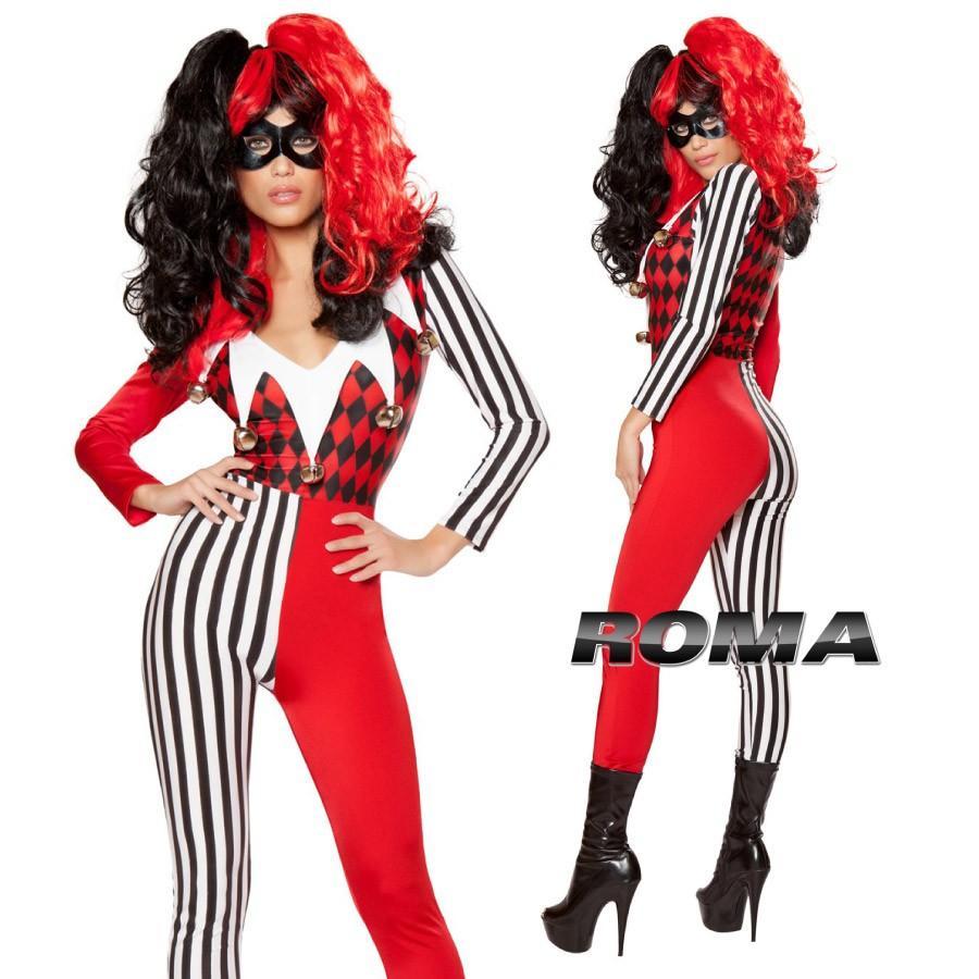 コスプレ 衣装 ROMA COSTUME ローマ RM 10046 ジョーカー 2点セット 正規品 ハロウィン 仮装 コスチューム