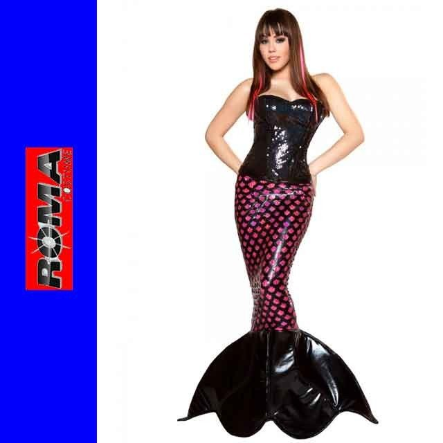 コスプレ 衣装 ROMA COSTUME ローマ RM 4351 マーメイド 人魚 2点セット OF50 正規品 ハロウィン 仮装 コスチューム
