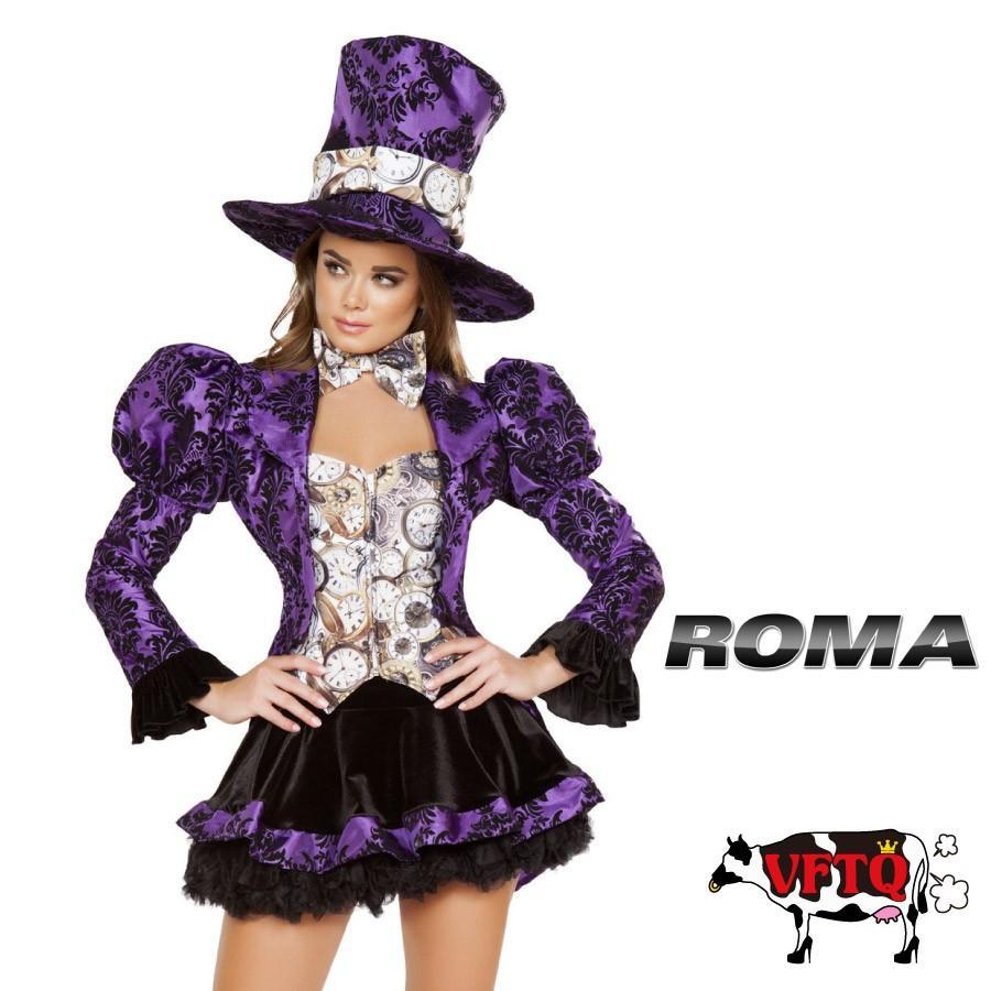 コスプレ 衣装 ROMA COSTUME ローマ RM 4731 マッドハッター 4点セット 2019新作 正規品 ハロウィン 仮装 コスチューム