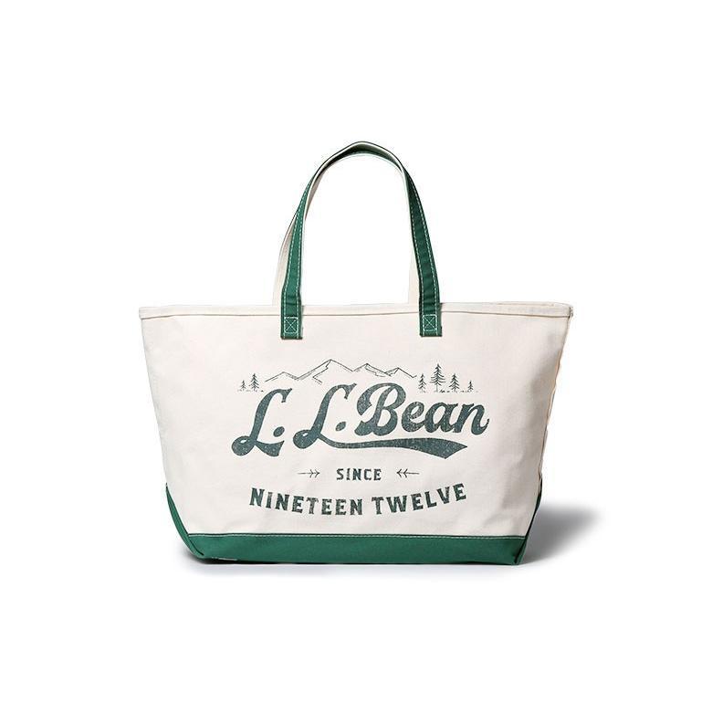 エルエルビーン トートバッグ キャンバス Lサイズ LLBEAN|viajero-chocolat|02
