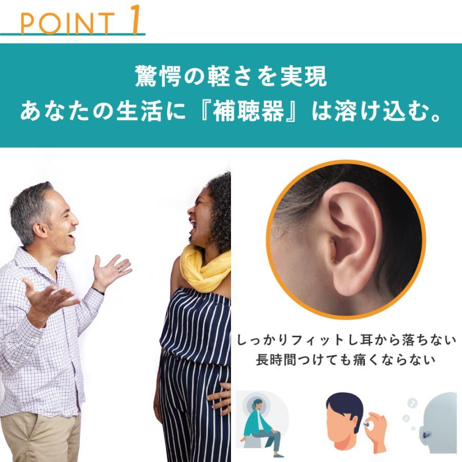 補聴器 一人ひとりに最適な音をお届け ヴィーブ ナノ8 左耳用 Vibe Nano8 最小 最軽量 小さい 目立たない 耳あな型 フィッティング|vibe-japan|06