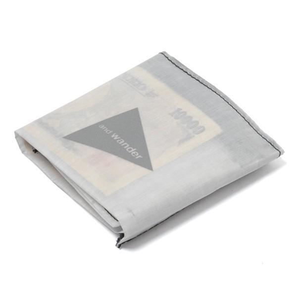 アンドワンダー and wander hybrid cuben fiber wallet white ハイブリッド キューベンファイバー ウォレット 財布