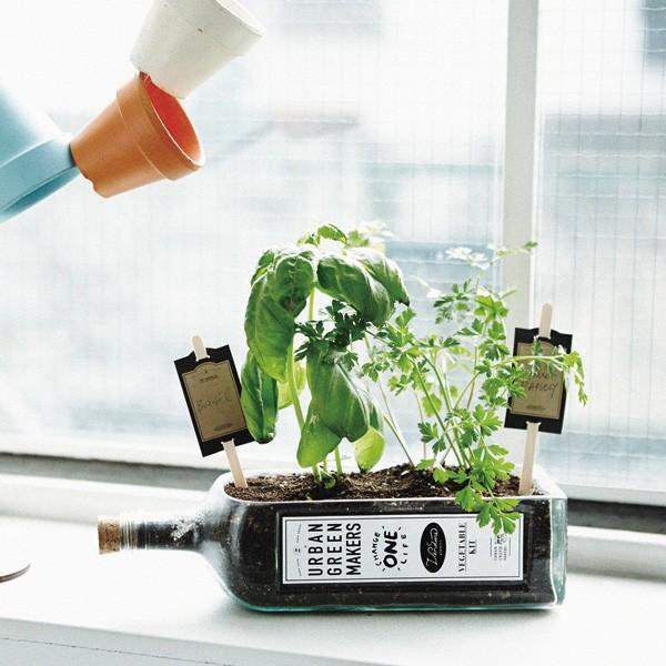デザイン良すぎな家庭菜園キット「URBAN GREEN MAKERS VEGETABLE KIT」