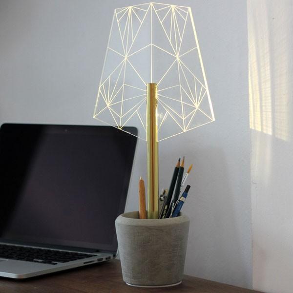 ストゥールサイドデザイン STURLESIDESIGN Lamp Lamp Wi赤/A ハンドメイドライト アクリル コンクリート