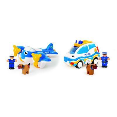 ワオトイ WOW Toys 2 in 1 マルチパック ポリスパトロール