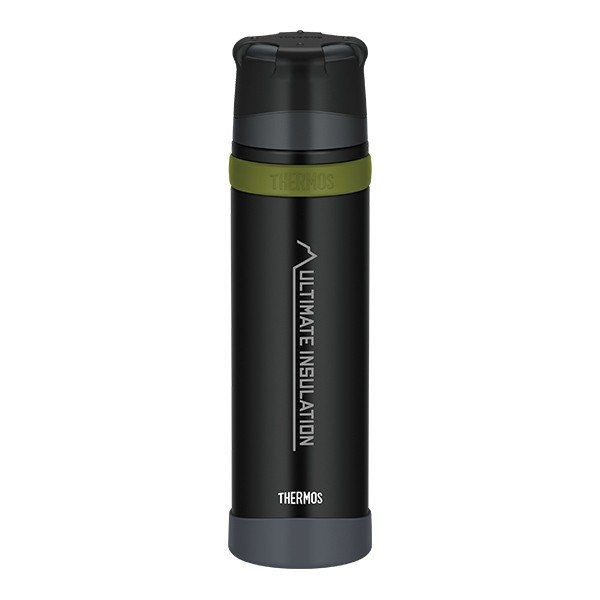 サーモス THERMOS 山専ステンレスボトル 900ml マットブラック|vic2
