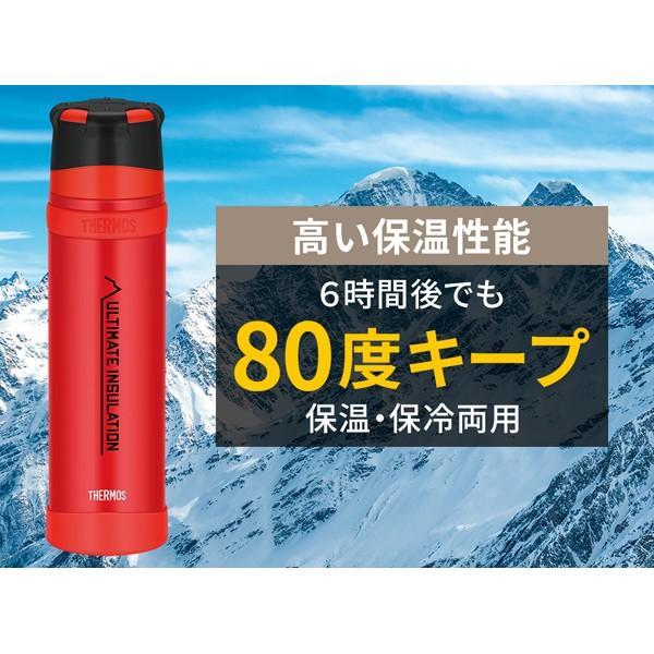 サーモス THERMOS 山専ステンレスボトル 900ml マットブラック|vic2|02