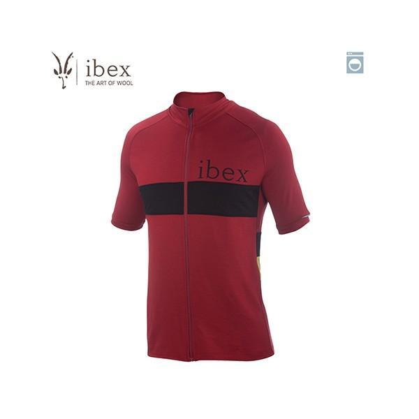 アイベックス ibex Mens スポーク フルジップ Rhubarb メンズ 19830500844003