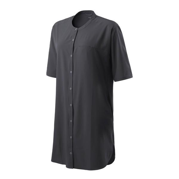 フーディニ HOUDINI Womens Trail Shirt Dress True Black