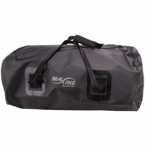 シールライン SEALLINE ZIP DUFFLE ブラック 75L ジップダッフル ドライバッグ 旅行 防水ダッフルバッグ