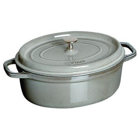 ストウブオーバルココット 直径33cm グレー Staub 鍋 無水料理